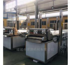 LY-6500雞米花雞爪雞柳全自動油炸流水線機器