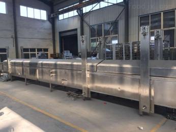 LY-28000晶瑩剔透水晶包蒸線 魚豆腐生產蒸線價格