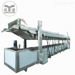 LY-8500*800全自動東北麻花花生餅油炸機流水線