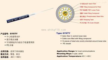 GYXTA-2B1光纤光缆