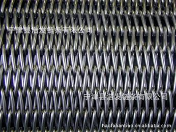 LXwd-001浩发供应各种规格螺旋不锈钢网带