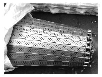 HFLT-B3199输送链板冲孔不锈钢链板