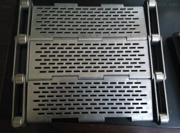 HFLT-B2218沖孔鏈板輸送帶金屬鏈板