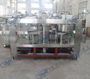 自动化鲜奶铝箔灌装封口机