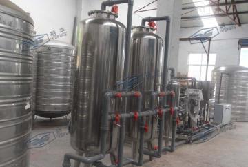 6吨纯净水水处理生产线