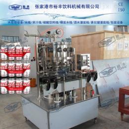 12头易拉罐含汽饮料灌装设备/碳酸饮料灌装设备