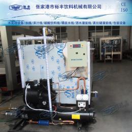 2吨冷饮水箱冷冻机组