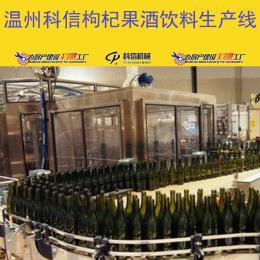 kx-2000成套枸杞果酒饮料生产线设备厂家温州科信