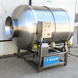 HY-500素食滾筒拌料調味機