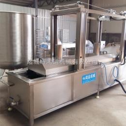 HY-4000大型刮渣油炸流水線/可提升連續式油炸流水線