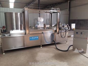 HY-4000鴻運供應江米條油炸流水線