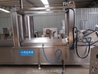 HY-4000油炸流水線/鍋巴油炸線/鴻運機械