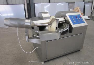 ZB-80高速斩拌机肉盘切肉机馅类专用斩拌机自动出料