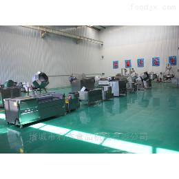 半自動薯片薯條加工生產流水線設備價格