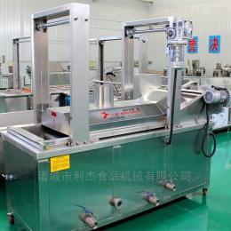 LJ-7000薯條全自動節能雙層網帶變頻調速油炸流水線