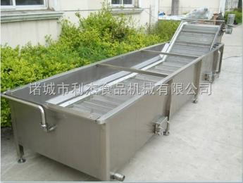 供应 果蔬清洗机 利杰蔬菜水果清洗设备厂家直销值得信赖