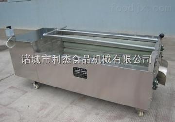 山东省诸城市利杰机械白萝卜毛刷清洗机设备