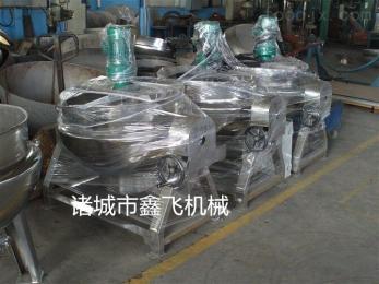 蒸汽蒸煮锅厂家  蒸汽夹层锅