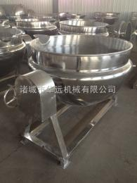 300L绿豆粥加工夹层锅,蒸汽夹层锅