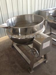 调味品加工夹层锅,可倾式燃气炒锅