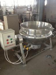 JC-300小型电加热夹层锅  卤肉立式夹层锅