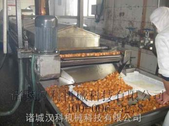 XH-8000魚豆腐油炸生產線 豆泡油炸生產線 面食制品油炸生產線