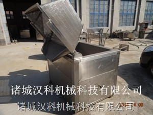 HKD-1000方便面全自动油水分离搅拌油炸机