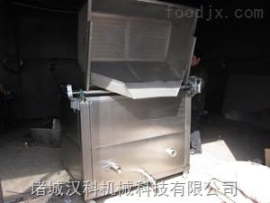 HKD-1200酒鬼花生全自动搅拌油水分离式油炸机