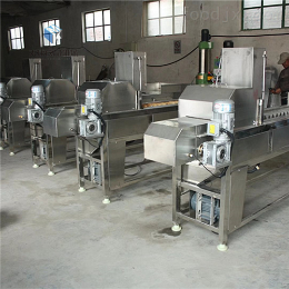 MK-2800冻玉米切头去尾机连续式生产
