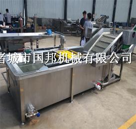 GB-4000蔬菜清洗机 臭氧消毒蔬菜清洗机 喷淋气泡清洗机