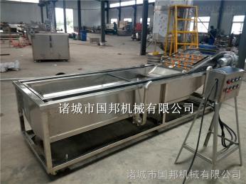 GB-1000国邦全自动净菜加工机械 净菜加工流水线 蔬菜清洗风干流水线