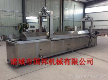 GB-500坚果类食品油炸生产线
