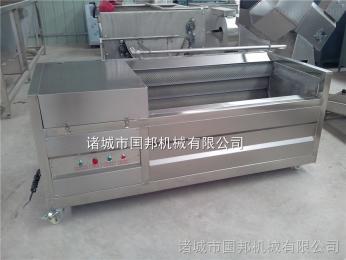 GB-1000去皮机供应不锈钢毛刷清洗机电机,毛刷辊机,土豆去皮机