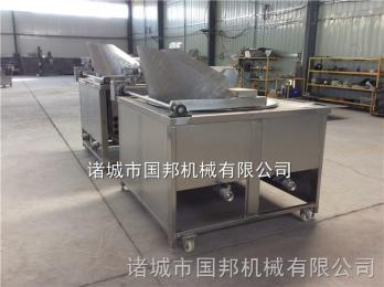 GB-700厂家直销响铃豆皮 油皮 黄金卷 春卷切割油炸机配套设备