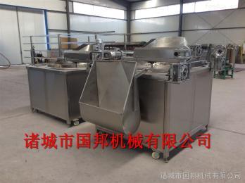 GB-800蚕豆油炸机 江米条油炸机 膨化食品油炸机 全自动油炸机厂家
