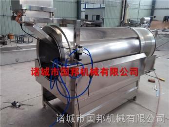 GB-2800厂家直销全封闭式滚筒调味机 手指饼干拌料调味配套设备 品质保证