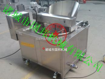 GB-2000供应燃煤型全自动搅拌油炸机 自动出料油炸锅