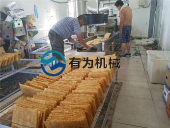 YWDZ-3000煎餅果子薄脆油炸機山東有為機械油炸設備專業廠家