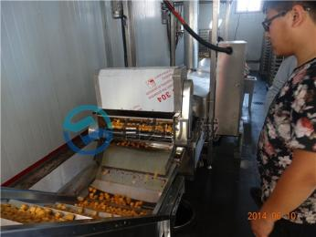 YW-3000炸魚豆腐的機器設備比較專業