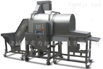 SFJ300隧道式雞米花上粉機