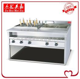 EH-1276喷流式电热煮面炉带汤池