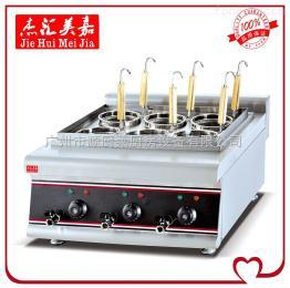 EH-688立式电热六头煮面炉
