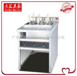 EH-876立式喷流式电热六头煮面机