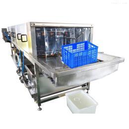 供應海鮮筐清洗機 電加熱殺菌消毒洗筐機