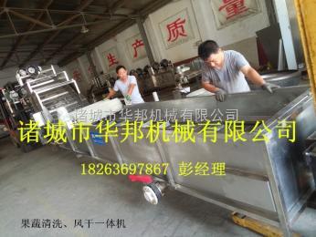 蔬菜配送中心蔬菜清洗机 蔬菜风干机 土豆、胡萝卜清洗机