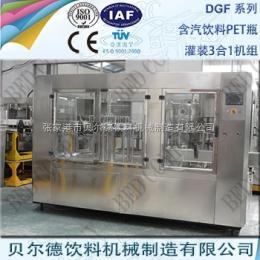 DGF 14-12-5碳酸饮料灌装生产线全自动PET瓶装可乐灌装机组