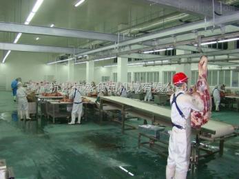 雞肉鴨肉家禽屠宰分割輸送流水線