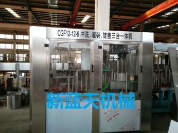 DGCF12-12-6全自动碳酸饮料等压灌装机设备
