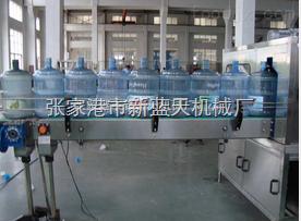 桶装水灌装机构造