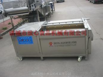 fx-1500大姜毛辊清洗机 小型洗姜机 鲜姜去皮 小量姜去皮 zui好的去皮清洗机 售后完善